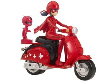 Игрушка Леди Баг на скутере