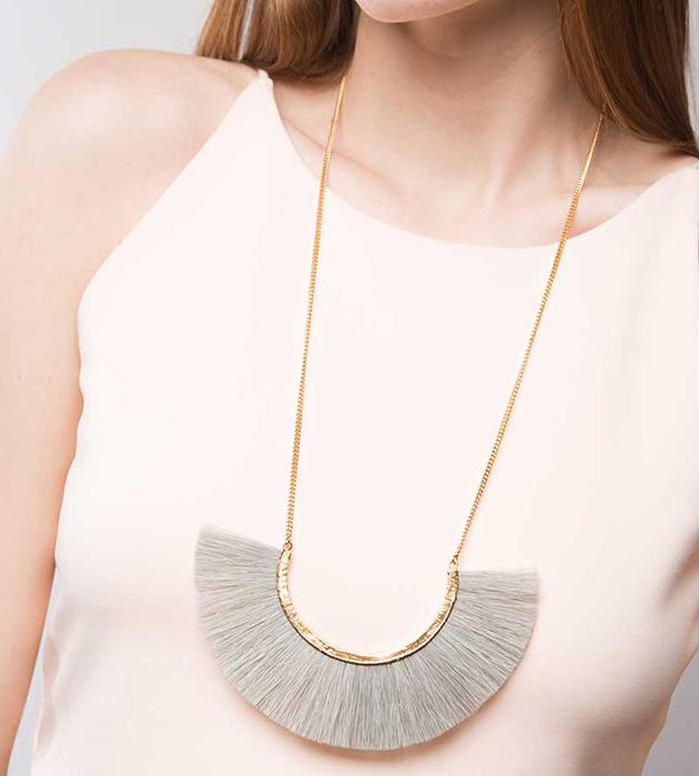 эффектное украшение от BJORG - Grey Moon necklace