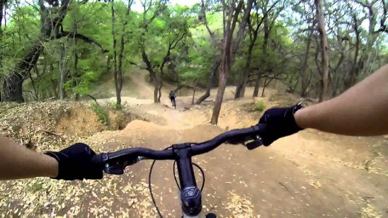 велосипедное видео от первого лица