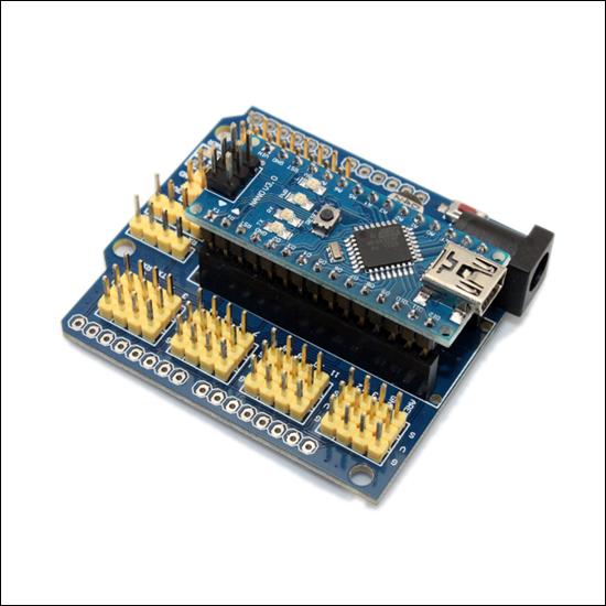 DK NANO - Плата-расширение для Arduino Nano и Arduino Pro