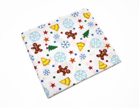 Новогодние ткани для рукоделия