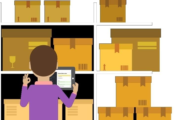 Инвентаризация товара с помощью программы учета проходит гораздо быстрее