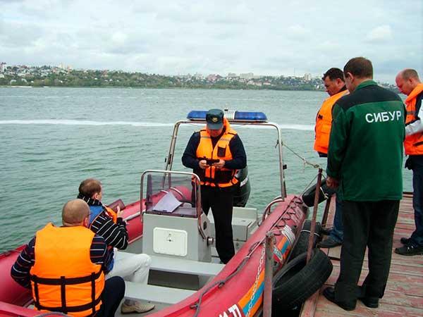 Инспекция на ТО лодки