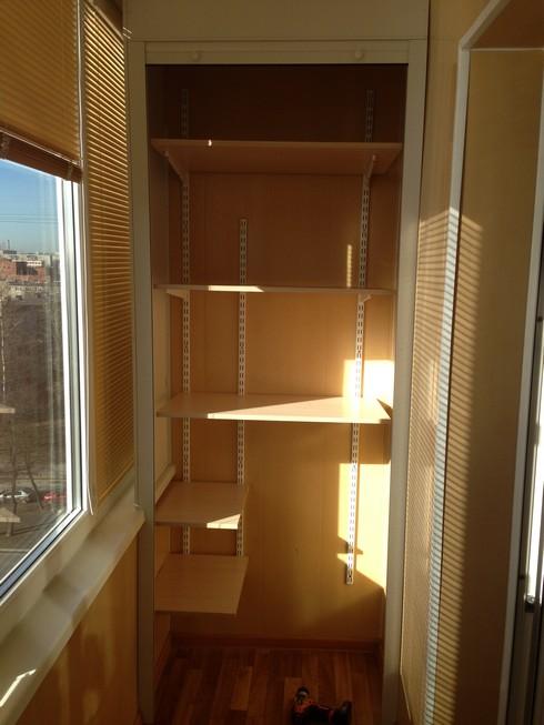 Купить встроенный шкаф на лоджию. - ставим окна сами - катал.