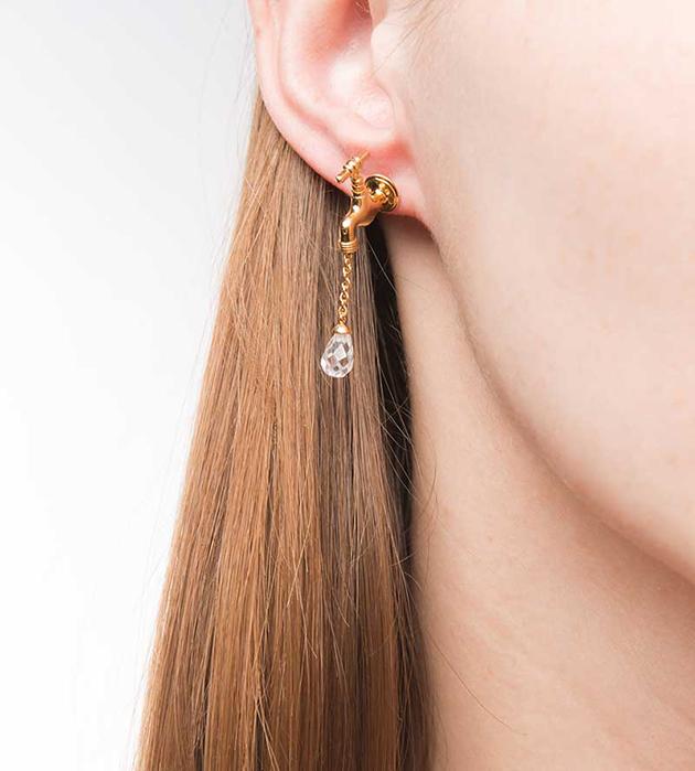 эффектные серьги ручной работы от Miss Bibi - Tap earrings