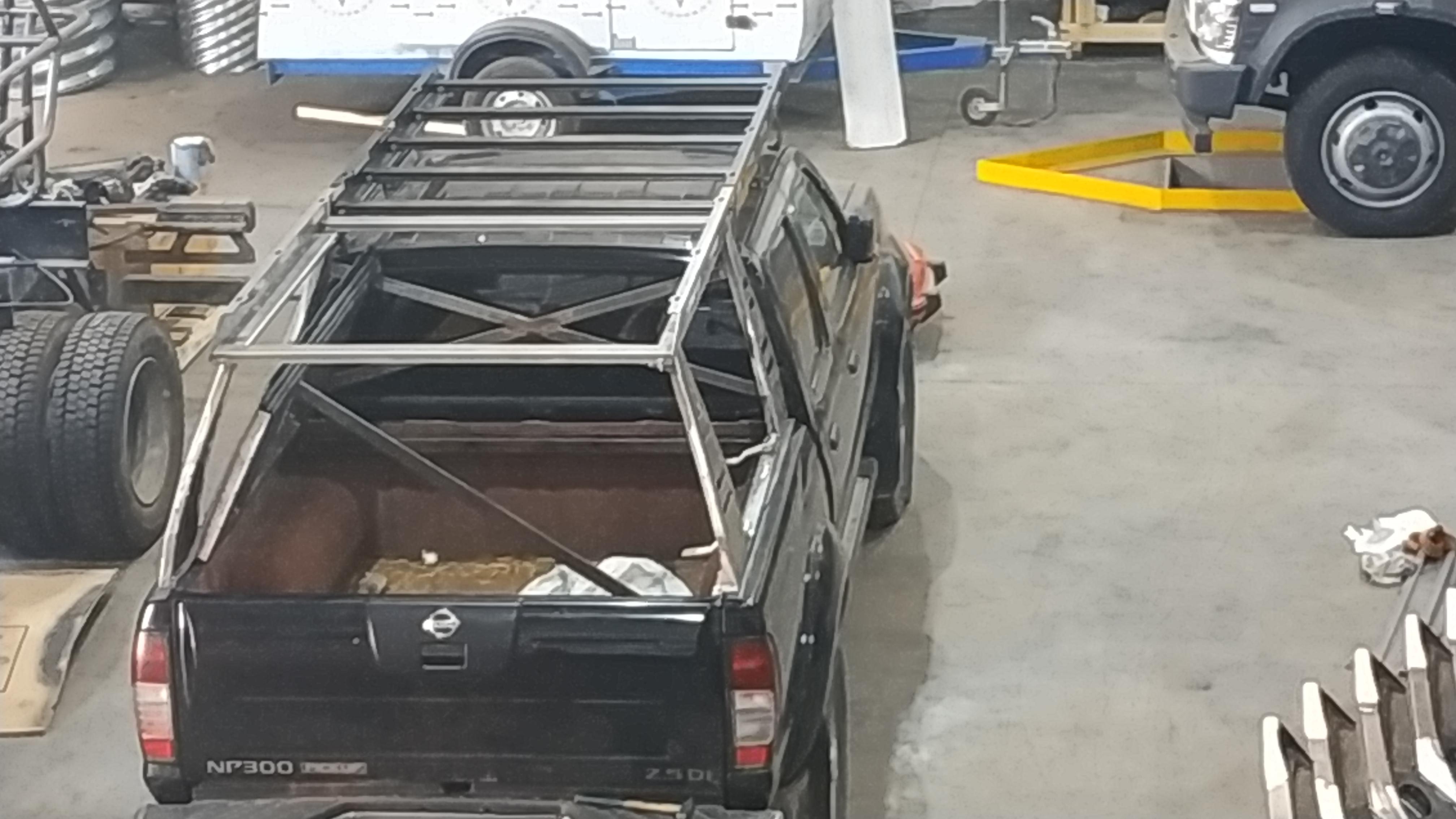 Экспедиционный багажник на Ниссан:изготовление и установка