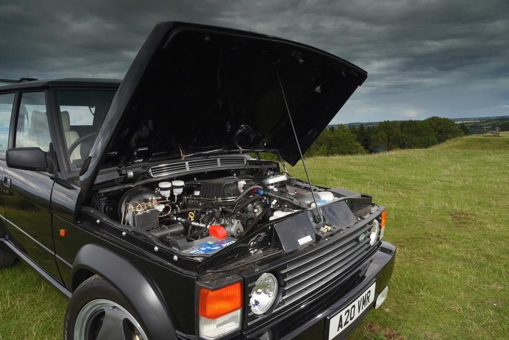 Range Rover двигатель