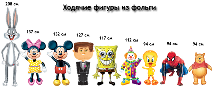 ходячие шары www.shop-shariki.ru