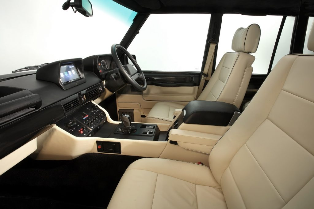 Range Rover салон