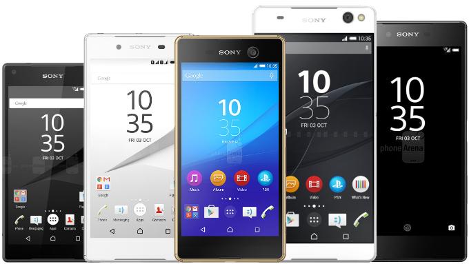 смартфоны Sony