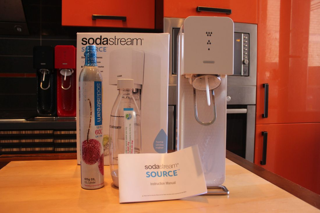 Комплектация сифона Sodastream Source Plastic
