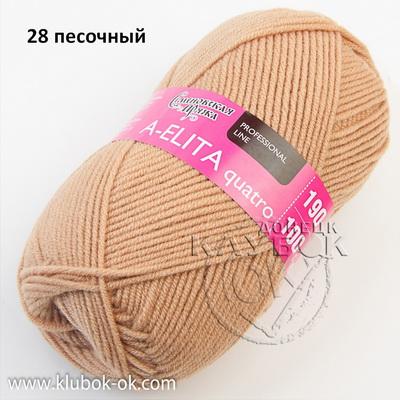 Аэлита кватро - A-elita quatro (Семеновская) 28 песочный