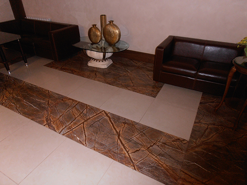 Плитка на пол из мрамора Бидасар Голд