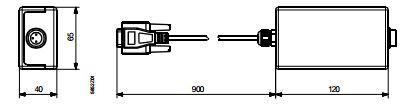 Размеры преобразователя Siemens AST11
