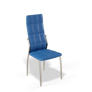 Стул для гостиной Kenner 106S, с мягким сиденьем и спинкой, цвет - синий