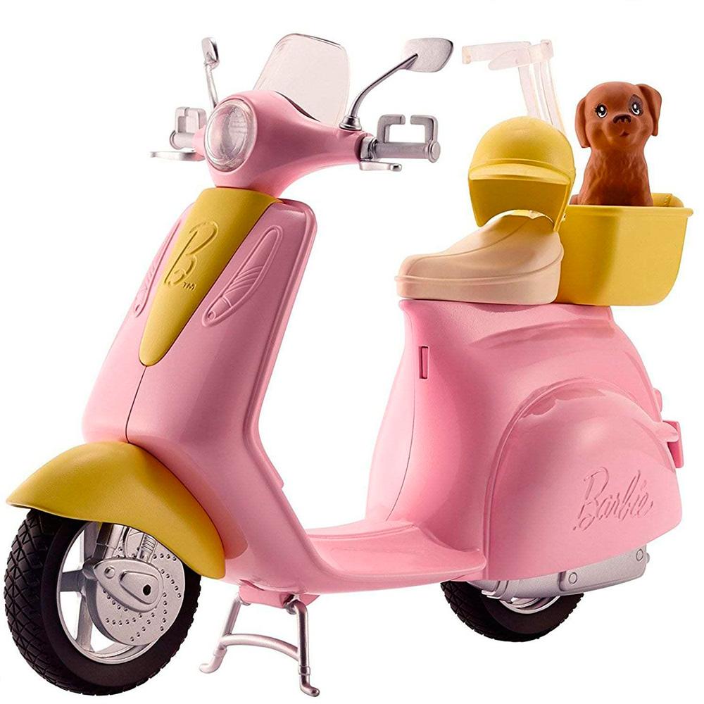 Скутер и питомец щенок для куклы Барби