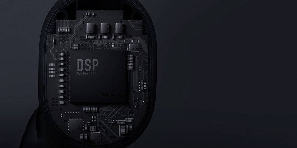 наушники Xiaomi Redmi AirDots True Wireless Bluetooth Headset (черный)