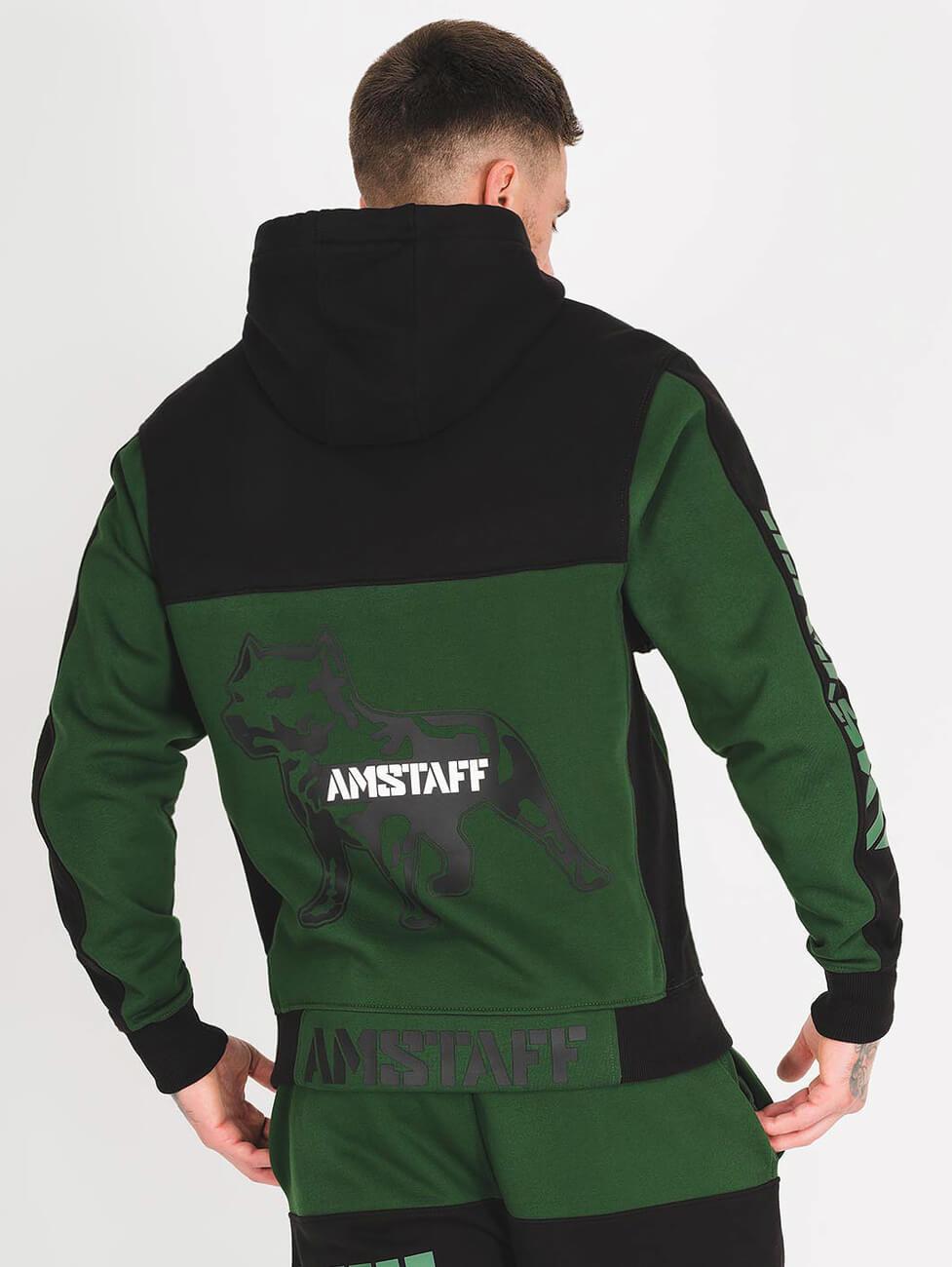 Спортивный костюм зеленого цвета мужской