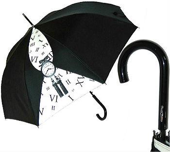 """Chantal Thomass  женский зонт трость Montres """"Часы""""(Франция, Донзи)."""