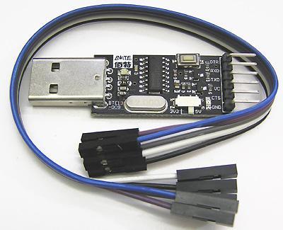 Модуль RC002. Переходник USB <=> COM-порт TTL/CMOS (RS232)