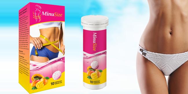 MinuSize шипучие таблетки для похудения оптом