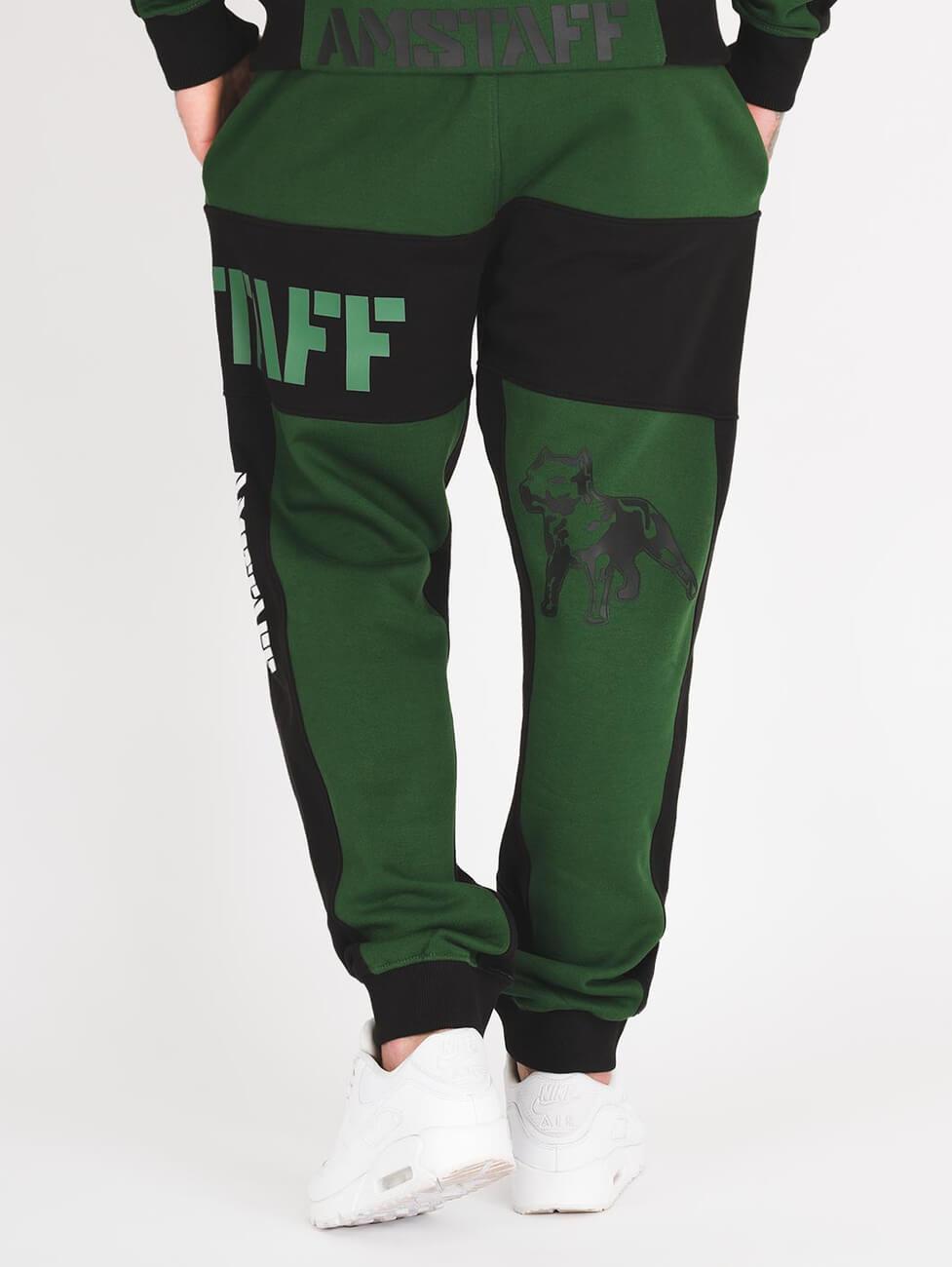 Спортивный костюм темно зеленого цвета фирменный