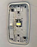 светодиодная лампа c5w подсветка салона Toyota corolla