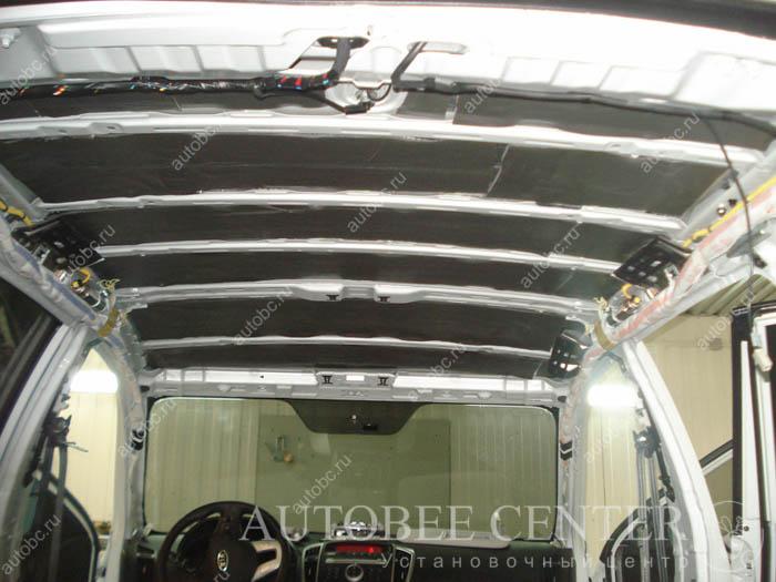 шумоизоляция крыши потолка