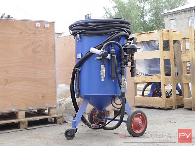 Пескоструйный аппарат АСО200 фото