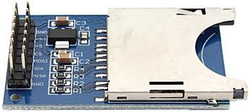 Модуль RC005. Модуль для чтения SD Flash карт со встроенным стабилизатором на 3,3 В (SPI)
