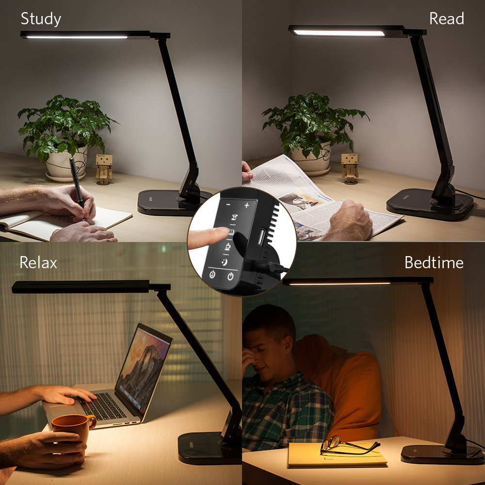Настольная лампа Anker Lumos LED Desk Lamp with USB Charging