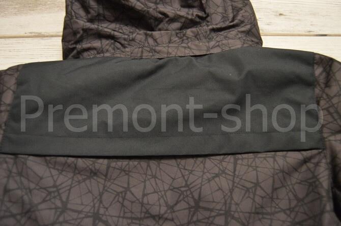 Куртка от комплекта Premont Блэк Графит, вид сзади