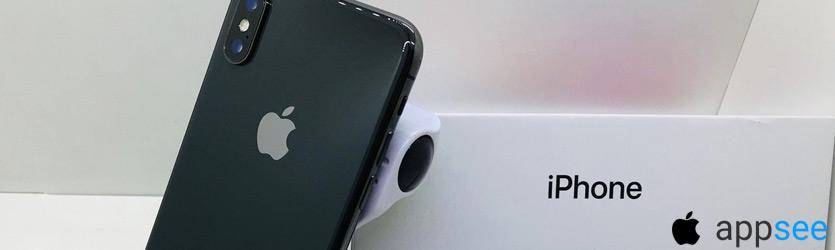 Айфон 10 Серый космос