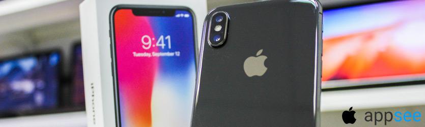 iPhone X Серый космос цена