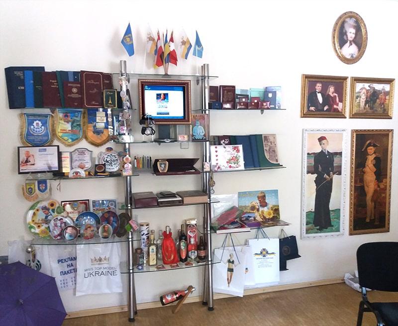 Выставка образцов продукции, выпускаемой ЧП Ризо-графика