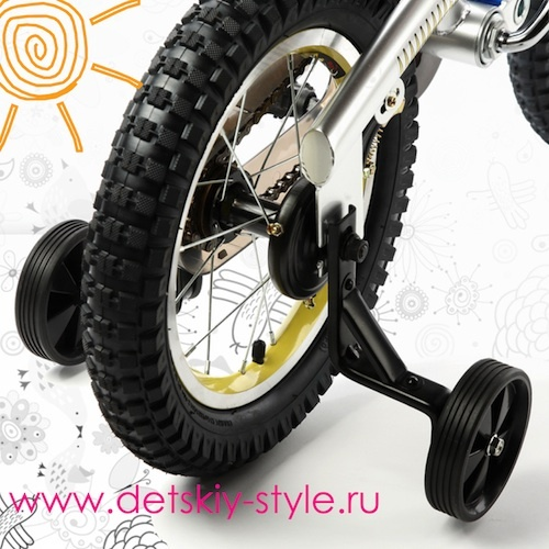 """Приставные колеса детского велосипеда Royal Baby """"Robocop"""""""