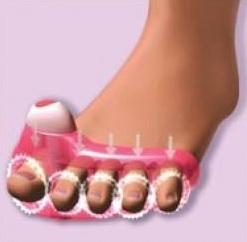 """Массажер для пальцев ног """"Счастливые пальчики плюс"""""""