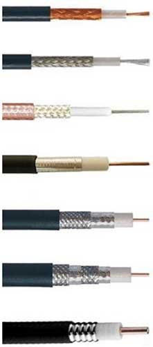 Виды коаксиального кабеля