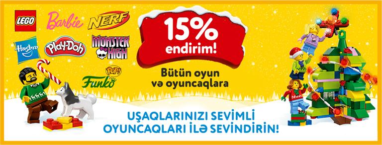 Endirim 15%