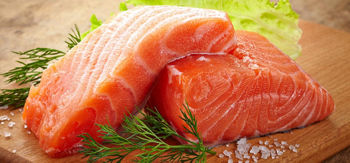 Только охлажденный лосось