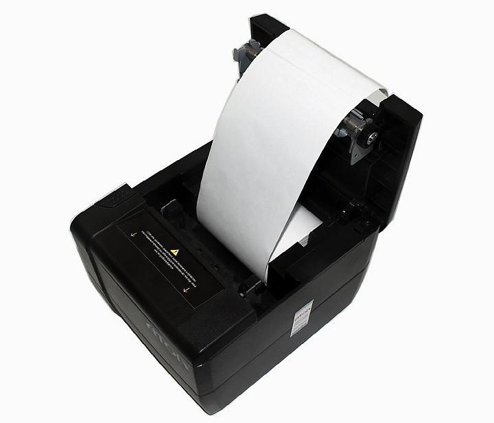 Замена чековой ленты на фискальном регистраторе АТОЛ 25Ф
