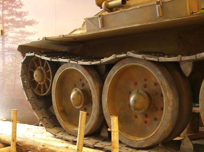 деталь танка из пенопласта