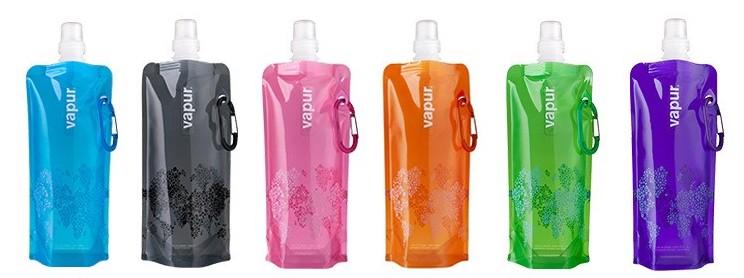 Многоразовая складная бутылка для воды и напитков Vapur