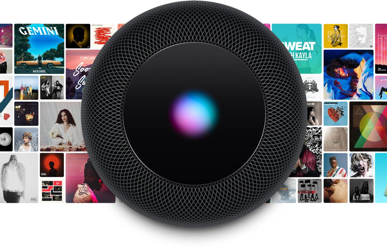 Акустика Apple HomePod