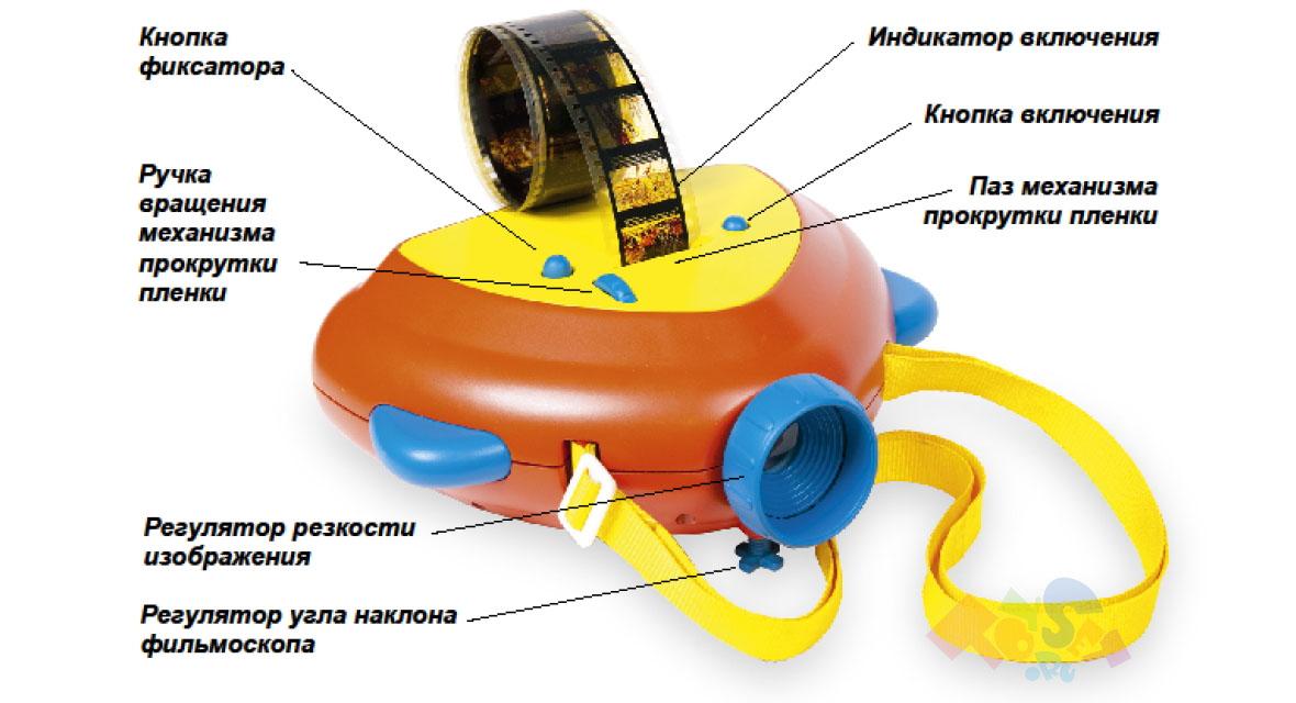 Устройство фильмоскопа Светлячок