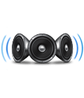 Surround sound with 3D Stereo