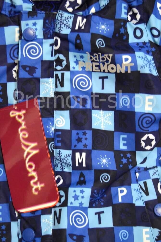 Планка на комбинезоне Premont Голубые льдинки