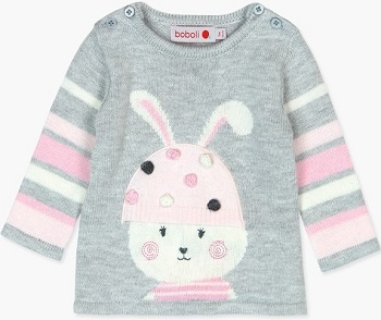 Платье Boboli Модный зайчик купить в интернет-магазине Мама Любит с доставкой по России!
