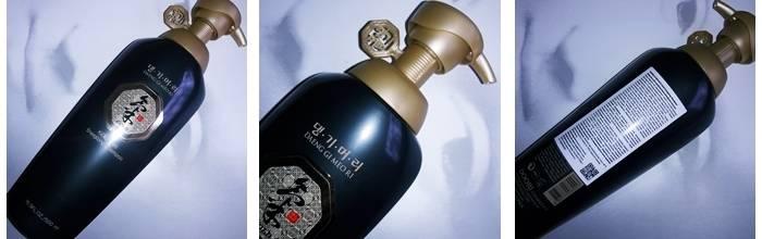 Фотообзор на шампунь против выпадения Ki Gold Energizing