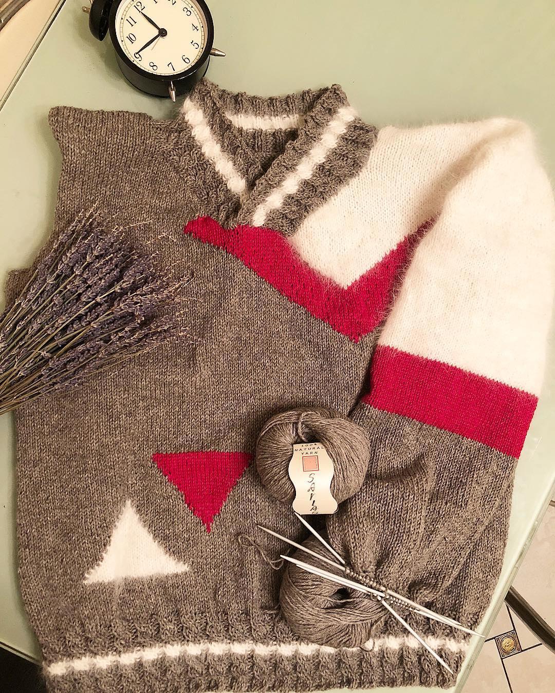 пуловер из яка